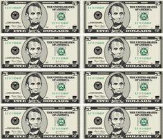 Printable Play Money Template Templates Free