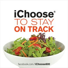 Cut calories. Choose a salad with low-fat dressing or box half of your burger to-go. #calories www.facebook.com/ichoose600