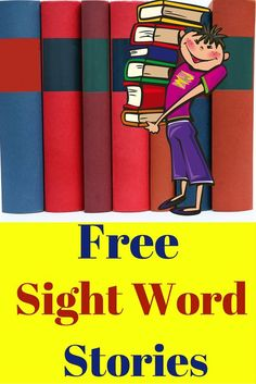 Free sight word stories to practice sight word recognition! This is the third story from a set of sight word stories I created for my class.