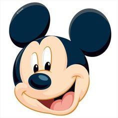 Oblea silueta Mickey 1