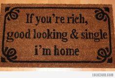 The best door mat!