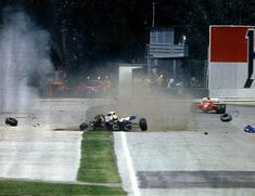 Senna's accident at Tamburello could have been the cause of a tire ...