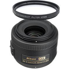 Nikon+AF-S+Nikkor+35mm+f/1.8G+DX+Wide+Angle+Lens+++UV+Filter+#Nikon