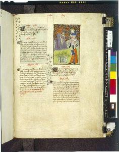 Harley 4431   fol 108   (Midas, Pan and Apollo). Paris, France 1410-1414.