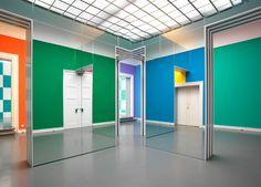 """Daniel Buren """"Allegro Vivace"""" Staatliche Kunsthalle Baden-Baden - Projects - Wolfgang Günzel Fotografie"""