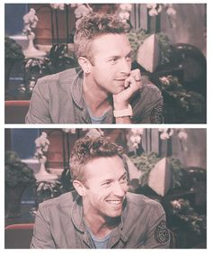 Chris Martin, the guy whose smile lights up my day tbh <3
