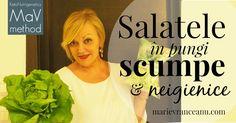 Salatele în pungi scumpe şi neigienice