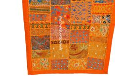 India Patchwork Ethnic vintage Wall Hanging Tapestry Table Runner HandmadeThrow