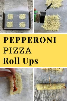 Pizza roll ups are a great low carb pizza recipe with all your favorite toppings. Excellent Keto Pizza option that is quick and easy. Roll Ups Recipes, Keto Recipes, Cake Recipes, Healthy Recipes, Pepperoni Pizza Rolls, Pizza Roll Up, Low Carb Pizza, Recipe Boards, Stromboli