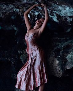Mermaid. Location. photography by Chris Nicholls. fashion editor: Elizabeth Cabral.