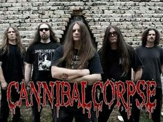 Cannibal Corpse is an American death metal band from Buffalo, New York. Formed in 1988.