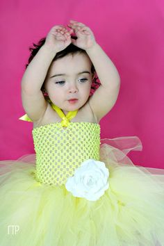 Nice in Yellow tutu dress by Iluvmytutu on Etsy,
