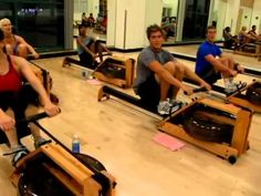 Indo-Row indoor group rowing class