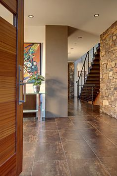 Foyer Tile Design Ideas, Pictures, Remodel, and Decor - page 6