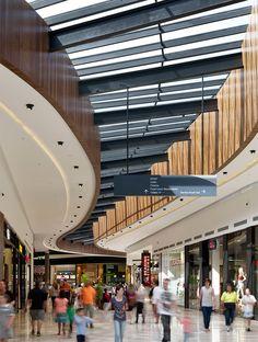 Woodgrove Shopping Centre by Buchan Group Interior Cladding, Interior Architecture, Dynamic Architecture, Mall Design, Retail Design, Shoping Mall, Shopping Mall Interior, Restaurant Hotel, Atrium Design