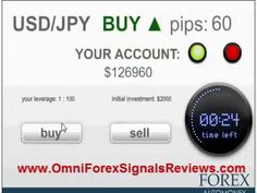 http://omniforexsignalsreviews.com/ - OmniForex Signals Reviews a demo account that makes a 6 figures profit in just one minute just by clicking the BUY/SELL signal button. Follow link to read a comprehensive review of this system, and have a no risk trial.