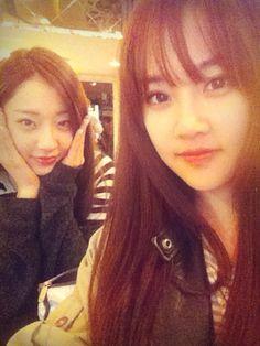 NINE MUSES - Park KyungRi #박경리 #경리 selca with KISS&CRY Yumi 'viva girls' concept