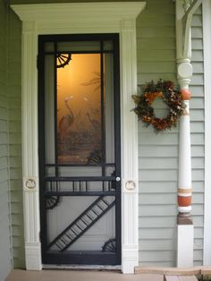 old screen doors ...they just say welcome.....