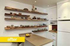 Kitchen Before & After: A Disorganized Kitchen Gets a Place for Everything — Professional Kitchen Remodel | The Kitchn