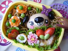 Too cute to eat! Japanese Bento Box - Delicious to Outrageously Cute