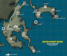 Fallout 4 - Boston Airport Region Map Fallout 4
