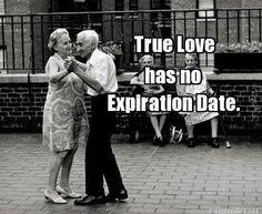 True love has no expiration date. #LoveEndures