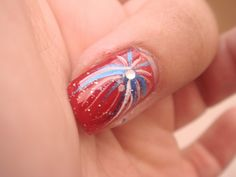 fourth of july nail designs pictures - Google Search