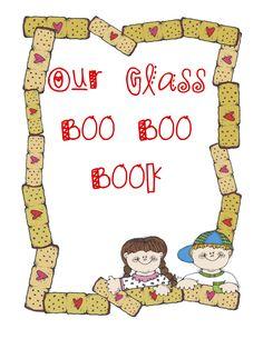 Class Boo Boo book - too cute
