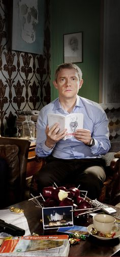 Happy Watson Wednesday! And what a Wednesday it is -- an airdate and official photos/art from the BBC!