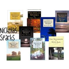 Read every book by Nicholas Sparks!