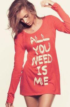 Cute saying on shirts... ❤️