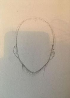 Manga Drawing Ideas Basic front anime head shape for anatomy Pencil Art Drawings, Art Drawings Sketches, Easy Drawings, Digital Painting Tutorials, Art Tutorials, Digital Paintings, Anime Head Shapes, Drawing Heads, Drawing Face Shapes