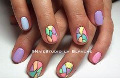 Pastel Stained Glass/Color Block