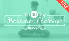 The 30 Day Meditation Challenge - DoYouYoga.com