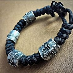 "@para_dime on Instagram: ""Crusader v. 2.0 Wrist Piece - Limited Edition beads, handcrafted by John Gage. Comes with Certifications of Authenticity. Available from: www.theoriginalparadime.com"""