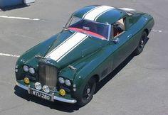 vintageclassiccars:    1954 Bentley R-Type