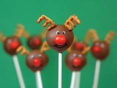 Photo: Courtesy of Bakerella             5 of 6             Reindeer