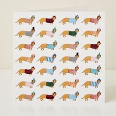 Mary Kilvert - Larry Long Disguises Greeting Card