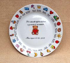 Ballagási ajándék ötlet óvónéniknek Diy And Crafts, Decorative Plates, Tableware, Home Decor, Dinnerware, Decoration Home, Room Decor, Tablewares, Place Settings