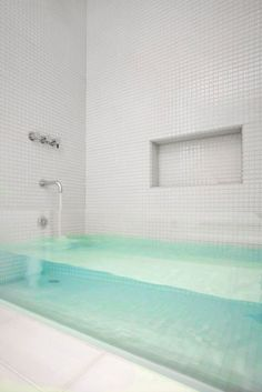 glass front tub. This is cool but I would be scared as hell if I seen this in person for the first time!