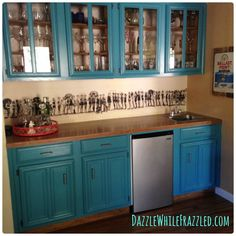 The perfect kitchen backsplash has nothing to do with tile!