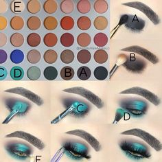 Jaclyn Hill palette look by Ashley Haw - Makeup Tutorial African American Makeup Eye Looks, Eye Makeup Steps, Cute Makeup, Makeup Set, Simple Makeup, Jaclyn Hill Eyeshadow Palette, Jaclyn Hill Palette, Jacklyn Hill Palette Looks, Morphe Palette