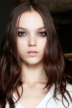 Jenna Earle @ Jonathan Saunders Spring 2014 Makeup