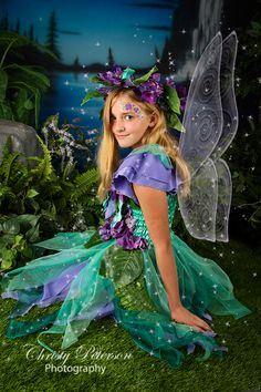 Fairy face painting, more pictures on the blog