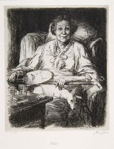 Mother, 1906, John Sloan, Ernest D. Roth (Printer), etching on paper, 9 x 7 1/2 in. (22.9 x 19.0 cm), Smithsonian American Art Museum, Museum purchase, 1971.365
