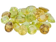 Madagascan Sphene Parcel Of 10.00ctw Mm Varies Mixed Round