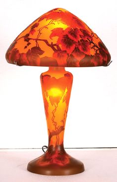 Galle Glass Lamp