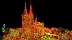 Maßstabsgetreu bis ins kleinste Detail: Hochschule erfasst Kölner Dom in 3D