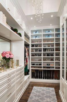 дневник дизайнера: Роскошный дизайн гардеробной комнаты от Лизы Адамс. 10 эксклюзивных проектов и 80 фото