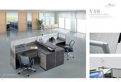 Stylish-4-Desk-Cubicle-Office-Workstation-72-x-60-x-43-Model-ACSTSW09H